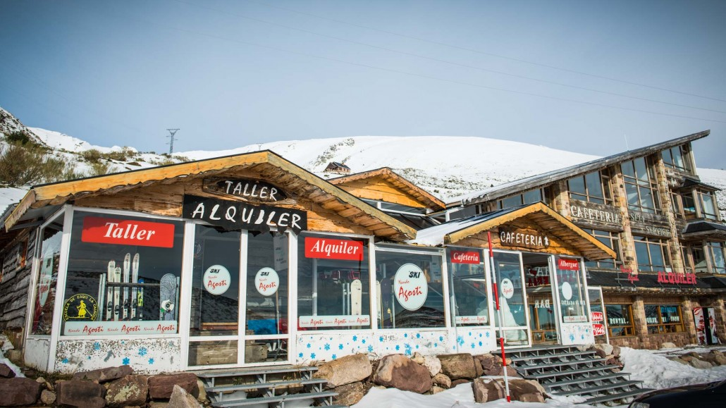 Alquiler snowboard alto campoo webcam